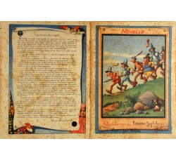 FIABE e NOVELLE - lotto 4 quaderni d'epoca illustrati - vedi foto e dettagli