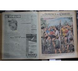 La Domenica del Corriere 1949 annata completa 1/52 rilegata