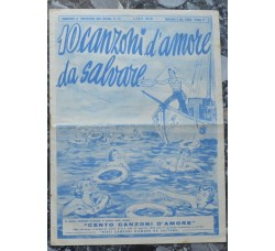 10 CANZONI D'AMORE DA SALVARE - rivista suppl.to a Giornalissimo Canzone 1952