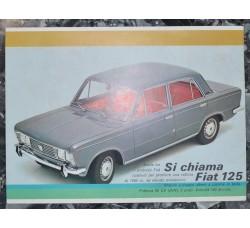 FIAT 125 e 125 Special - 3 cataloghi pubblicitari vintage diversi - GRATIS spedizione