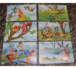 CRAVERI serie II 1/6 cpl. cartoline anni 70 - GRATIS spedizione