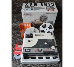 Proiettore CINE MAX IGC automatic Supr 8 K5 507 in scatola funzionante con film - GRATIS spedizione