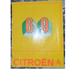 CITROEN '69 catalogo pubblicitario generale, completo ...