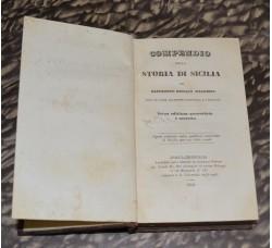 STORIA di SICILIA sacerdote N. Maggiore - Palermo 1840