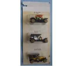 3 modellini AUTO D'EPOCA - Ford, ...in original box