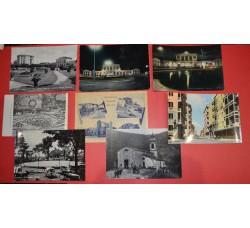 ALESSANDRIA provincia Lotto 8 cartoline: Casale Monf. Tortona, Montegioco, ...