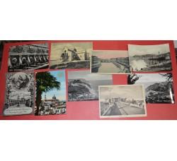 Ancona (5) + Senigallia (2) + Loreto (2) - 9 cartoline d'epoca - Ottime