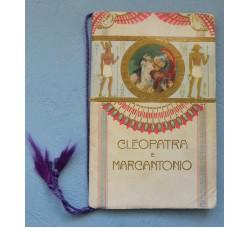 """Calendarietto """"CLEOPATRA e MARCANTONIO"""" Almanacco 1915"""