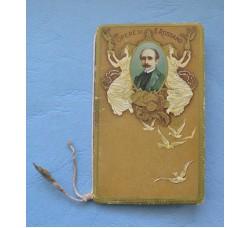 """Calendarietto """"OPERE di E. ROSTAND"""" Calendario 1918"""