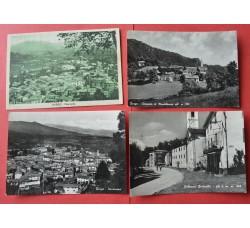 BARGE + ROBURENT Cuneo - 4 cartoline d'epoca - vedi le foto per dettagli