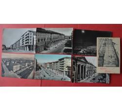 CUNEO Città - 7 cartoline d'epoca - vedi le foto per dettagli -