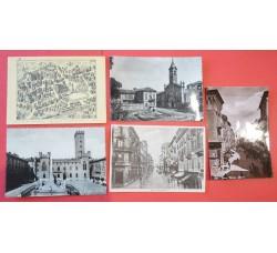 Asti Città - 5 cartoline d'epoca