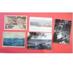 Asti provincia - 5 cartoline d'epoca