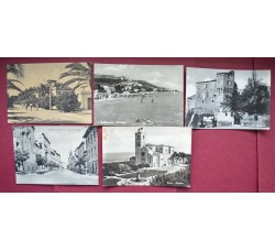 ASCOLI Provincia - 5 belle cartoline d'epoca
