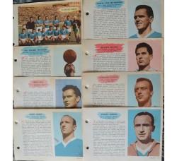 NAPOLI CALCIO 14 figurine schede ENCICLOPEDIA dello SPORT - 1959