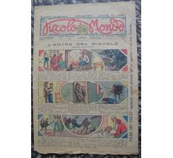 PICCOLO MONDO anno1 n.1 1924 fumetti e didascalie - ORIGINALE!