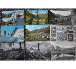 AOSTA e PROVINCIA lotto 48 cartoline come descritto dalle 6 foto