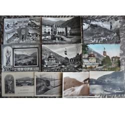 BIELLA Santuario di Oropa - lotto 10 belle cartoline d'epoca