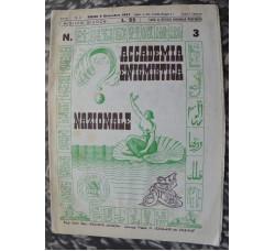 ACCADEMIA ENIGMISTICA NAZIONALE 1947 n.3  rivista rara - Come Nuova