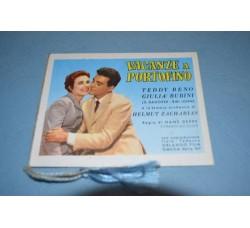 ACANZE a PORTOFINO Calendarietto film 1959 Teddy Reno, G. rubini