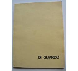 DI GUARDO Giovanni - New Gallery, Catania 1975 - Volume con schizzo a penna, dedica e Autografo