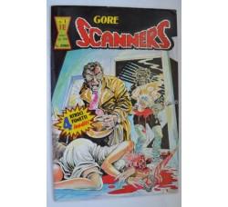 GORE SCANNERS n.1 1990 - rivista Splatter spillata 54 p. - Ottima