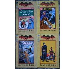 Batman La vita di Robin n. 1-4- cpl. limited Ed. Lion 2013 NUOVI -