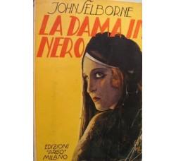 Selborn - LA DAMA IN NERO - ed. Argo 1933 Il Romanzo Poliziesco n.6
