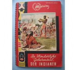 ALBUM DER INDIANEN CHOCOLADE MEURISSE - Completo delle 150 fig. ORIGINALE