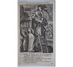 LA SEPOLTURA - Mysteres Vie passion mort Jesus Christ - Bourgoys - Bolswert 1622