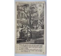 LA PREDICAZIONE - Mysteres Vie passion mort Jesus Christ - Bourgoys - Bolswert 1622