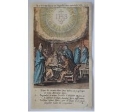 LA CIRCONCISIONE - Mysteres Vie passion mort Jesus Christ - Bourgoys - Bolswert 1622