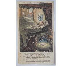 LA NATIVITA' - Mysteres Vie passion mort Jesus Christ - Bourgoys - Bolswert 1622