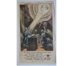 ANNUNCIAZIONE - Mysteres Vie passion mort Jesus Christ - Bourgoys - Bolswert 1622