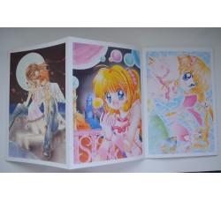 MERMAID MELODY Hanamori - 5 Cartoline lancio ed. Kodansha - NUOVE -
