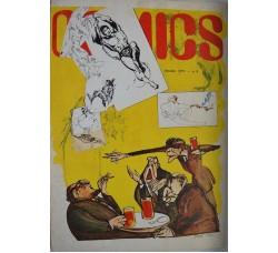 "COMICS n.8 1973 - H. Pratt ""Pratt's Army"", Topolino, VEDI LE FOTO -"