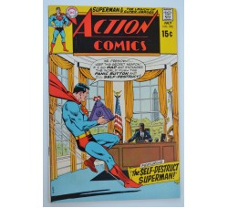 ACTION COMICS #390 1970 - in lingua - DC National USA -