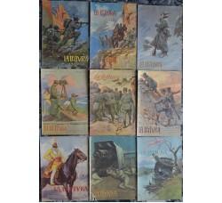 Alpini, 1 Guerra mondiale, ill. di A. Bianchi su copertine La LETTURA 1915
