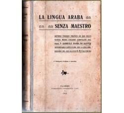 La lingua araba senza maestro 1° edizione 1912 - guerra di Libia -