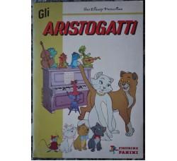 Album figurine panini GLI ARISTOGATTI completo 1979 - eccellente -