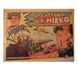 La cattura di MIRKO - Albi dell'intrepidezza n. 62 /1947  ed. Tomasina - originale