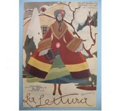 BRUNELLESCHI illustrazione Deco, da rivista Febbraio 1927 - originale!