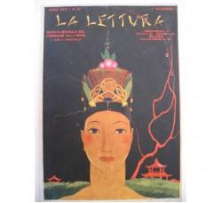 BRUNELLESCHI illustrazione Deco, da rivista Dicembre 1926 - originale!