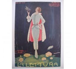 BRUNELLESCHI illustrazione Deco, da rivista Giugno 1925 - originale!