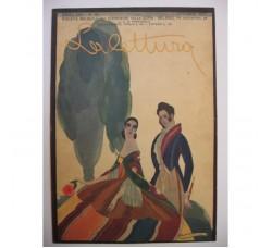 BRUNELLESCHI illustrazione Deco, da rivista Ottobre 1925 - originale!