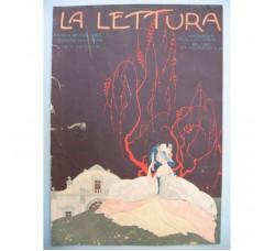 BRUNELLESCHI illustrazione Deco, da rivista Luglio 1923 - originale!