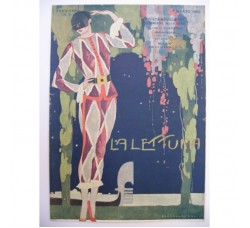 BRUNELLESCHI illustrazione Deco, da rivista Marzo 1922 - originale!