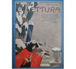BRUNELLESCHI illustrazione Deco, da rivista Gennaio 1921 - originale!