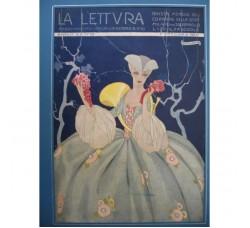 BRUNELLESCHI illustrazione Deco, da rivista Ottobre 1920 - originale!