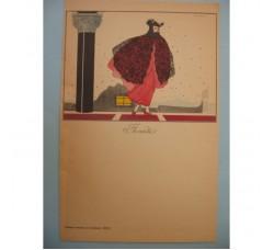"""BRUNELLESCHI """"Florindo"""" illustrazione Deco, anni 30 - originale!"""